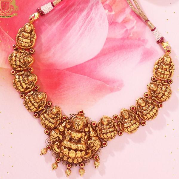 Temple set necklace