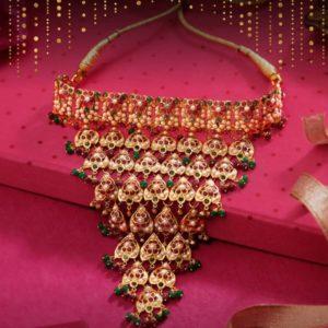 Jadau set necklace